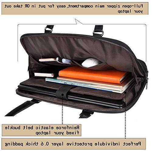 Laptop Tote Bag,EDODAY Inch Bag Women Shoulder Bags for Work