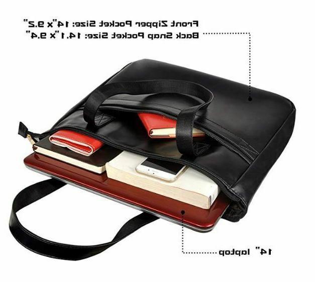 EDODAY tote bag for computer BROWN ~ NEW