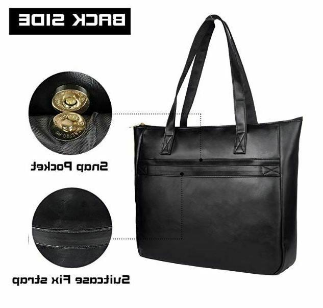 EDODAY tote for inch computer BROWN ~ NEW