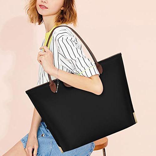 Laptop Water Nylon Laptop Bag Lightweight Tote Bag Handle