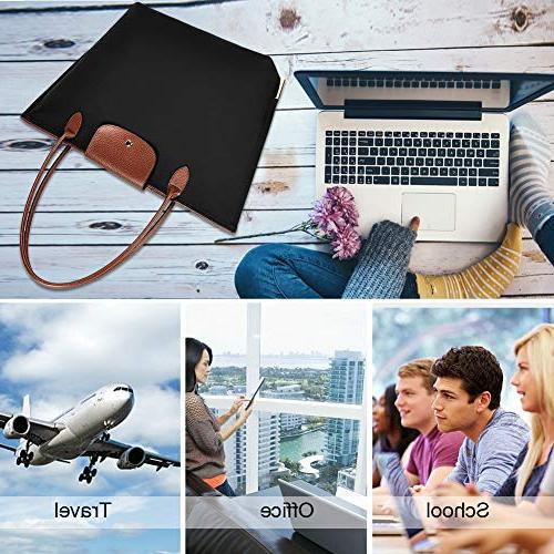 Laptop Inch Water Laptop Bag Women Tote Bag with Handle
