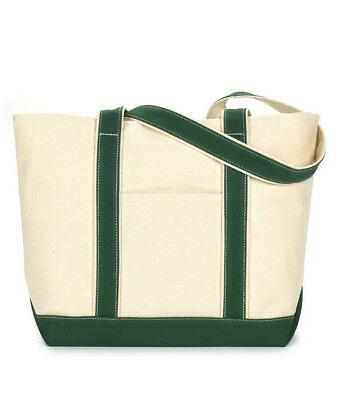 large canvas boat tote bag 8871