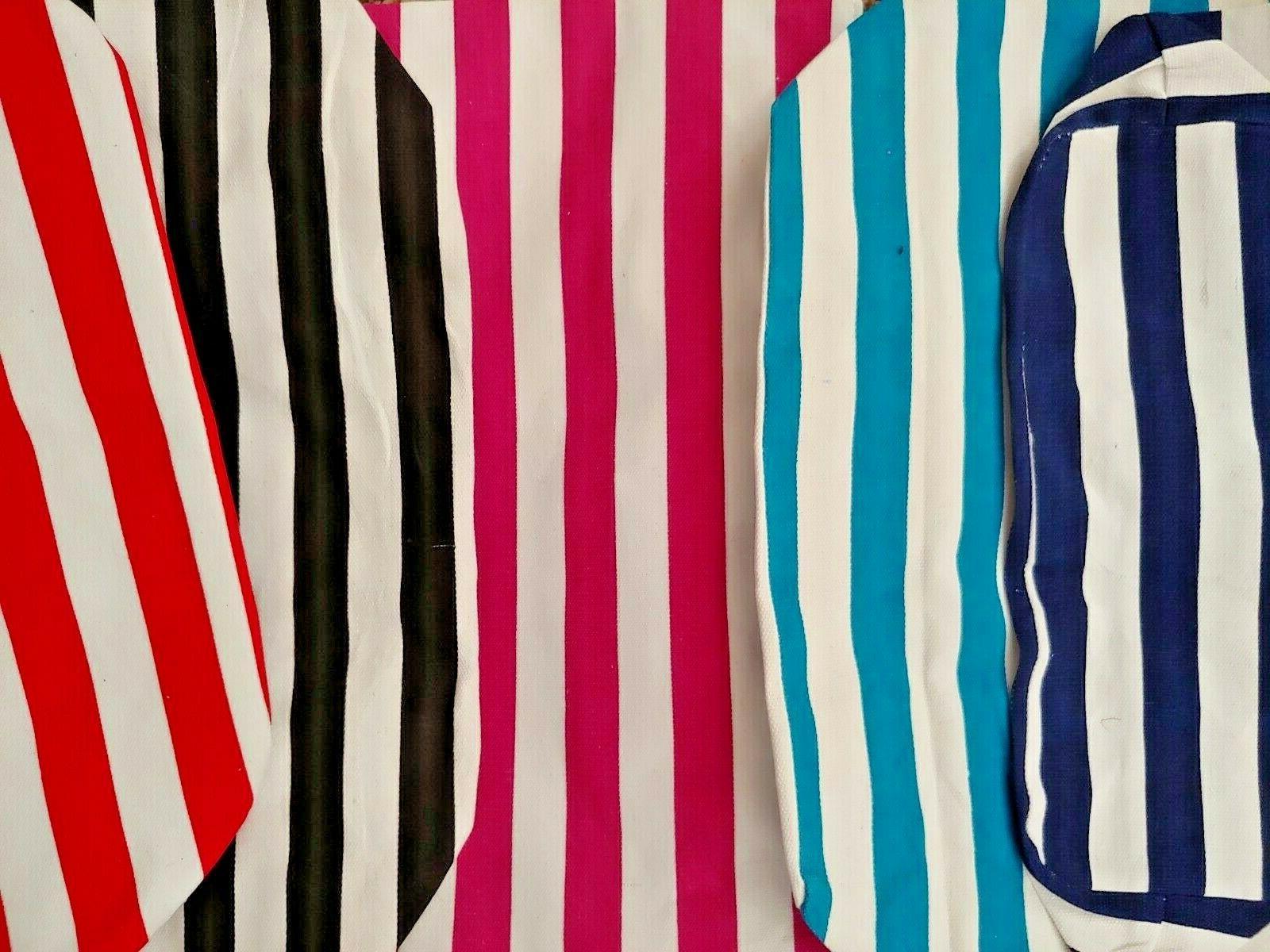 Large Fashion White Stripes
