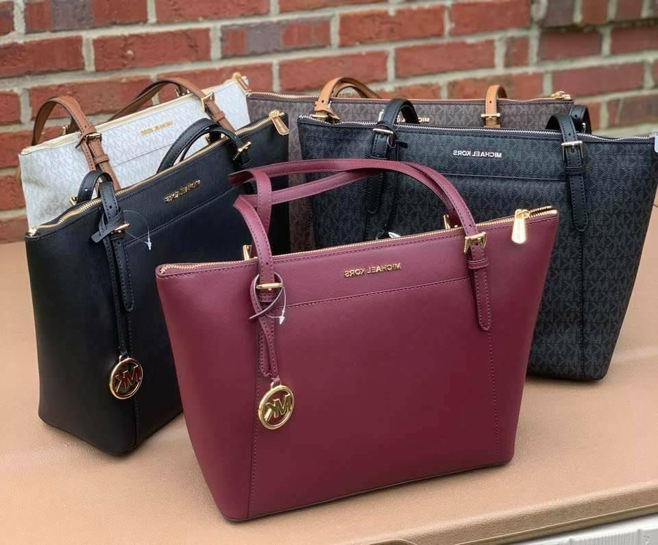 Leather Signature Tote