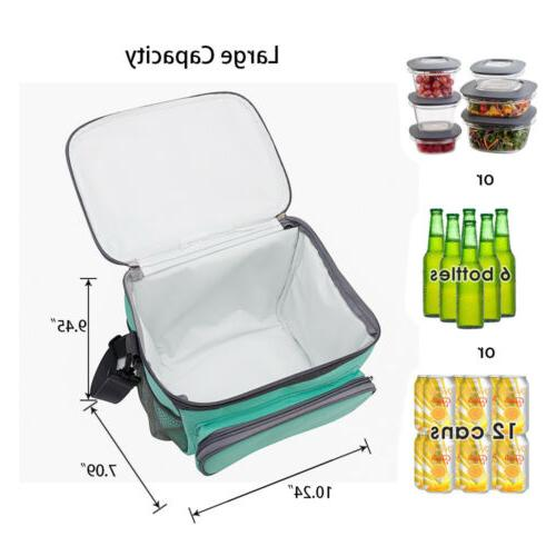 Insulated Lunch Thermal Bento Tote Box Kids