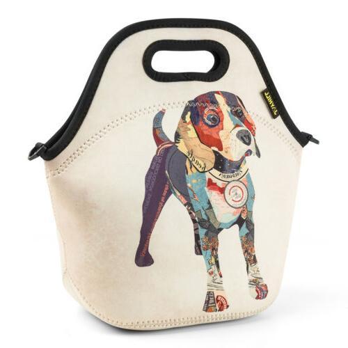 Cartoon Lunch Bags for Kids Girl Unicorn Neoprene Bag