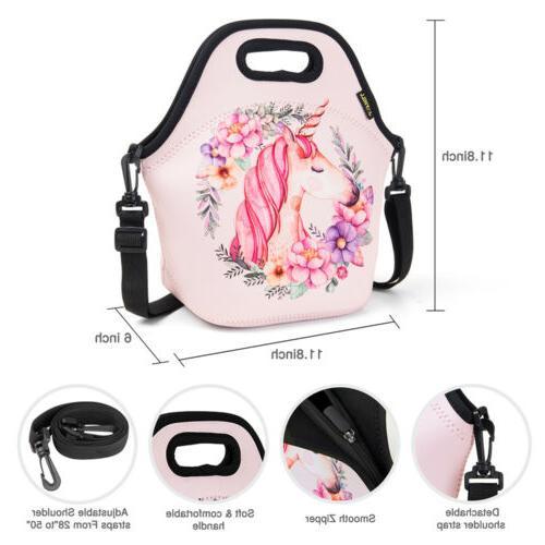 Cartoon Insulated Bags Kids Girl Bag