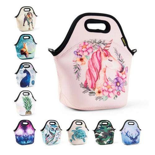 large insulated lunch bags for women kids