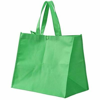 Large Reusable Handle Grocery Tote Shopping - Colors Kitchen