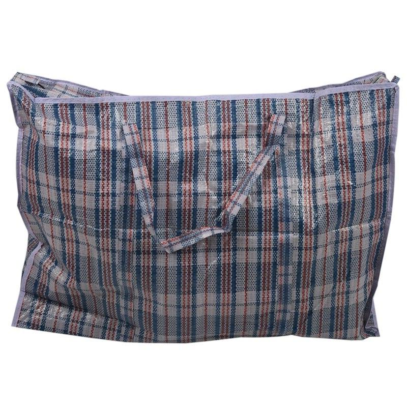 LAUNDRY SHOPPING REUSABLE ZIPPERED STORAGE <font><b>TOTE</b></font>
