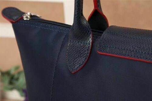 Longchamp Nylon Bag Horse Large Handbag