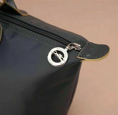 Longchamp Nylon Tote Horse Handbag