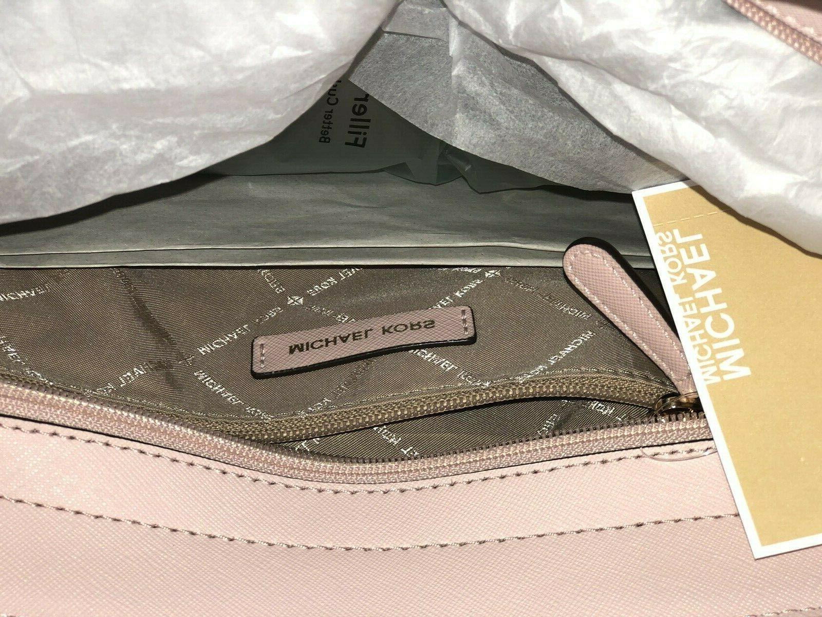 Michael Leather Satchel Crossbody Handbag Shoulder