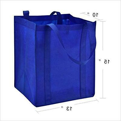 """LIHI Grocery Bag Large """" Heavy Duty Nonwoven Tote"""