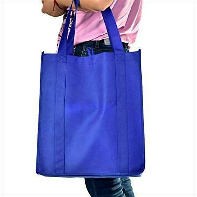 LIHI Grocery Bags Bag Large Duty Nonwoven Fabric Shopping Tote