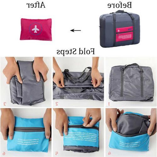 Luggage Travel Duffel Carry-on Waterproof Bag US