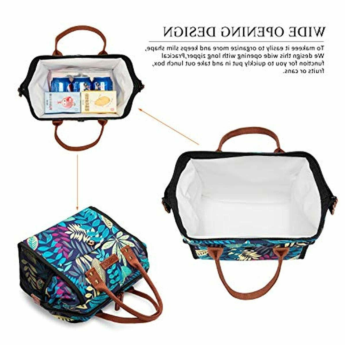 LOKASS Lunch Cooler Insulated Lunch Box T