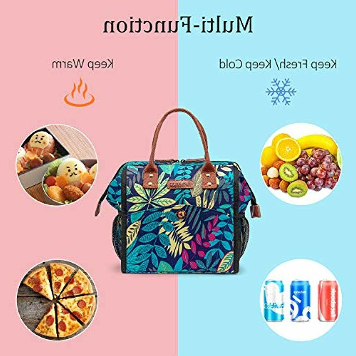 LOKASS Lunch Bag Bag Tote Insulated Lunch T