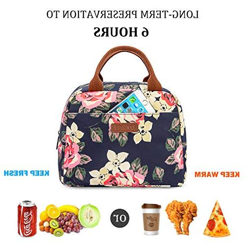 LOKASS Bag Insulated Lunch Box Water-resistant Leak Liner Bags for