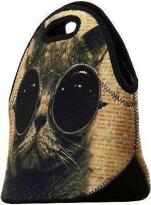Lunch Bags Insulated for Women Men Adult Neoprene Cute Tote R