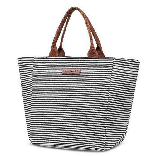 Lunch Tote Bag Insulated Lunch Box Water-resistant Lunch Women