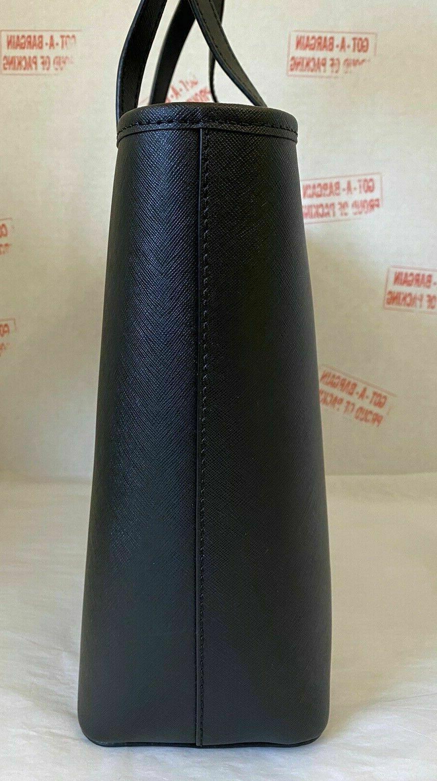 Michael Set Travel Leather/Signature Zip Tote