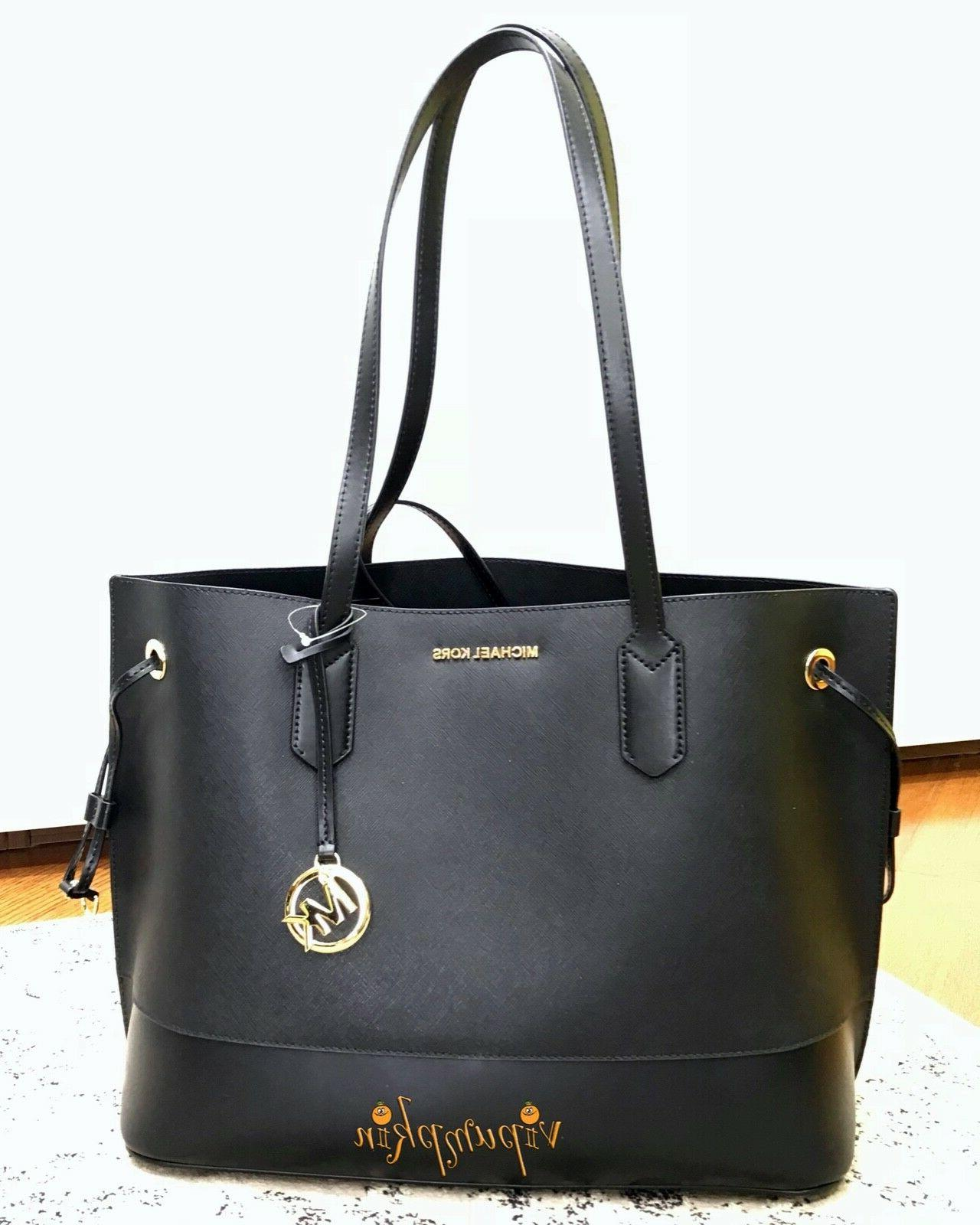 Michael Kors Trista Drawstring Bag Black