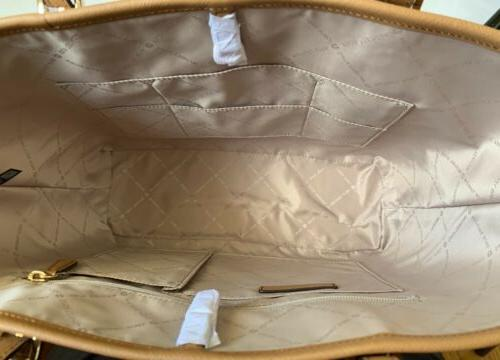Michael Kors MK Jet Travel Carryall Vanilla