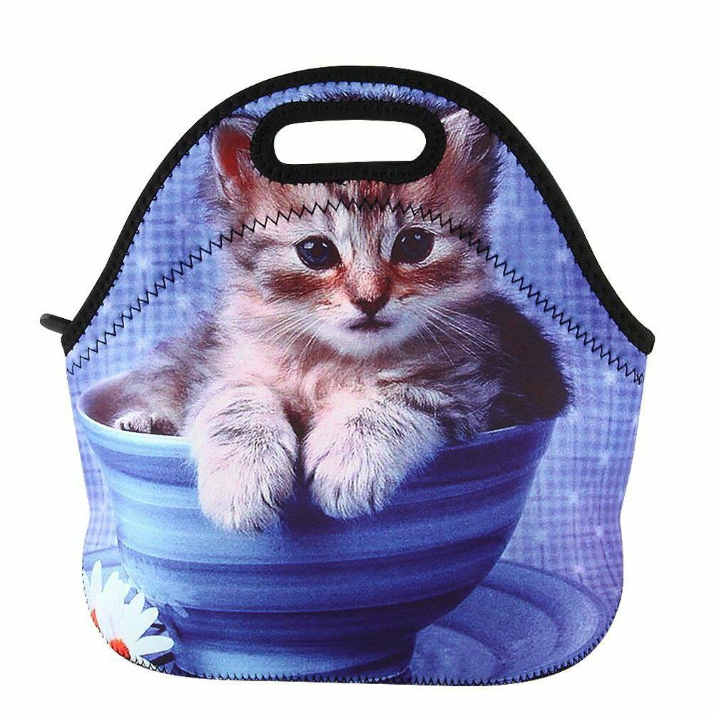 Neoprene Thermal Bag Tote Lunch Holder Lunch Container
