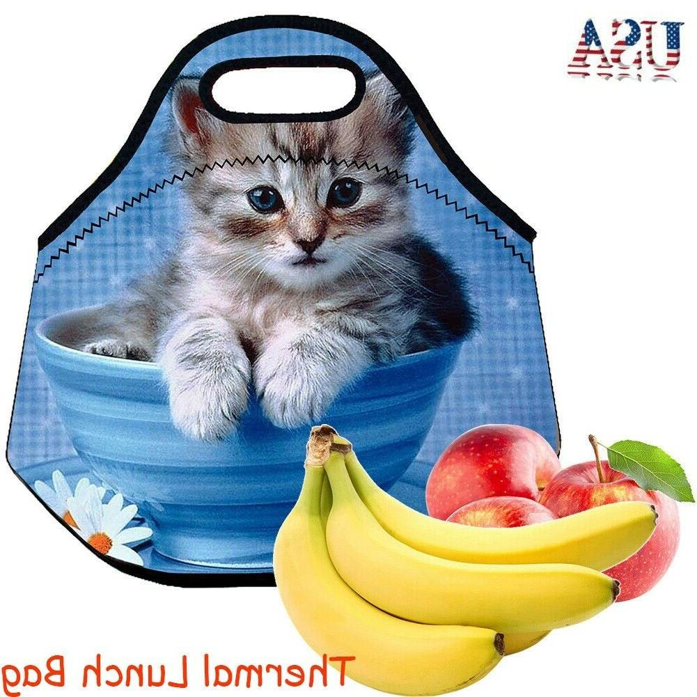 neoprene thermal lunch bag tote bag lunch