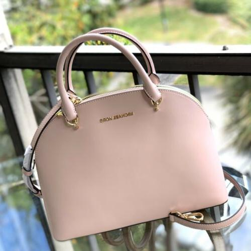 new 35h9gy3s3l emmy lg dome leather satchel