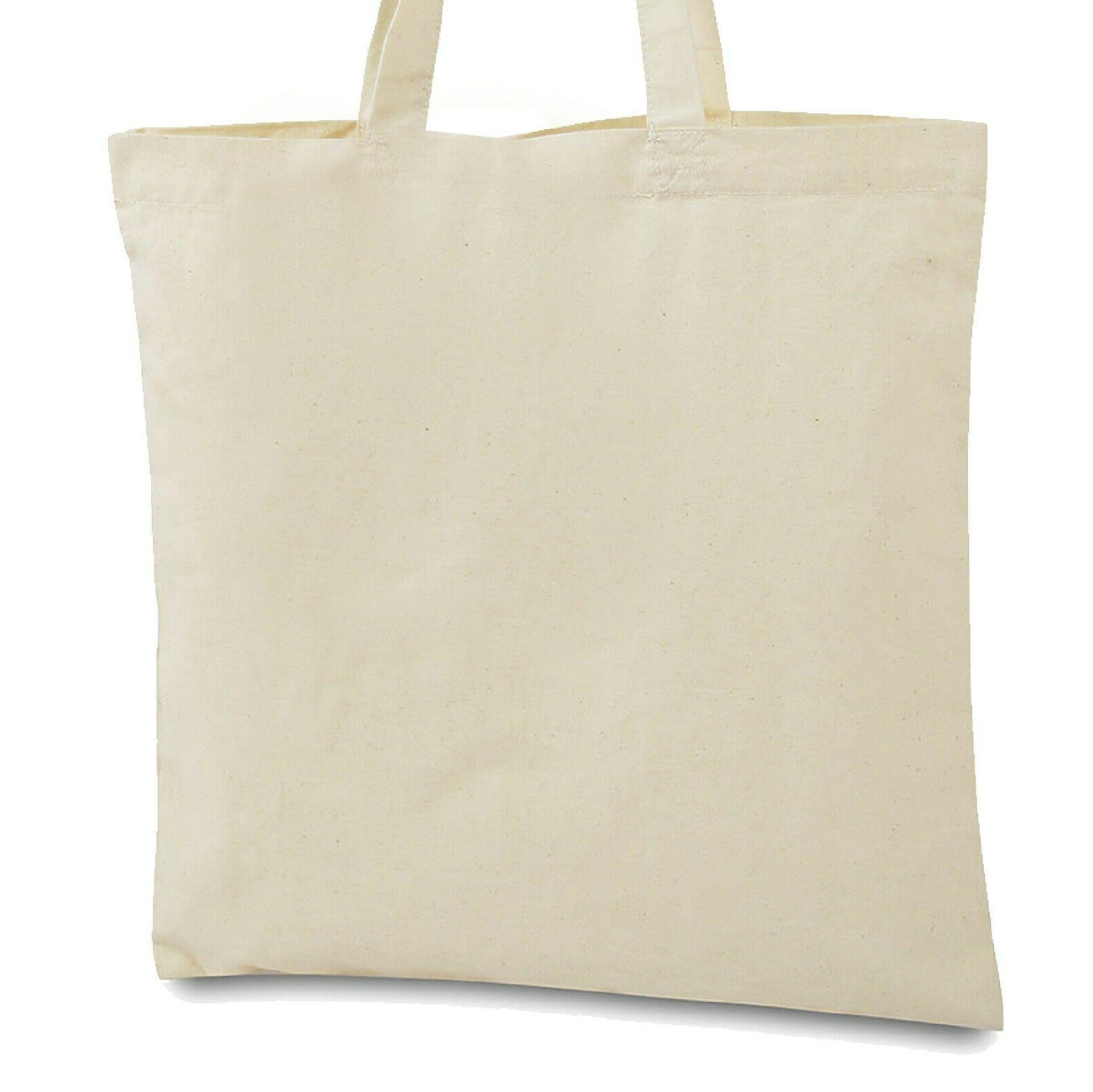 New Canvas shopping Tote Reusable Grocery