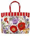 NEW Estee Lauder Floral Design Tote Bag Beach Bag Shopping B
