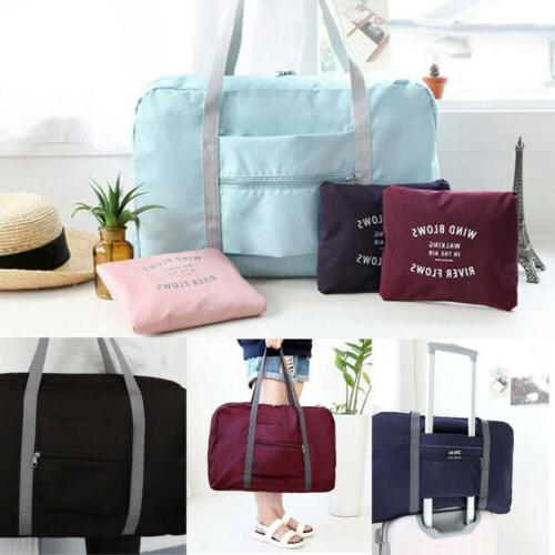 new foldable large duffel bag luggage storage