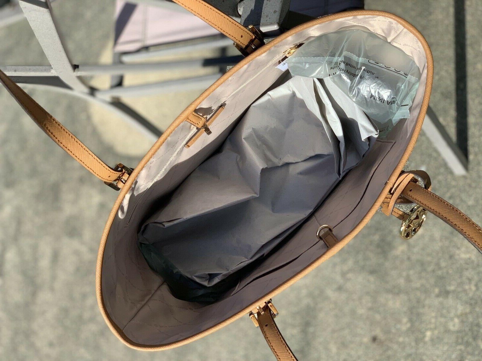 New Michael Tote Bag MK Brown