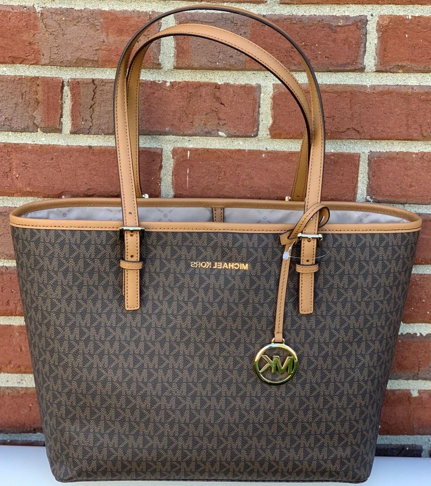 New Kors Set Travel Tote Bag Brown