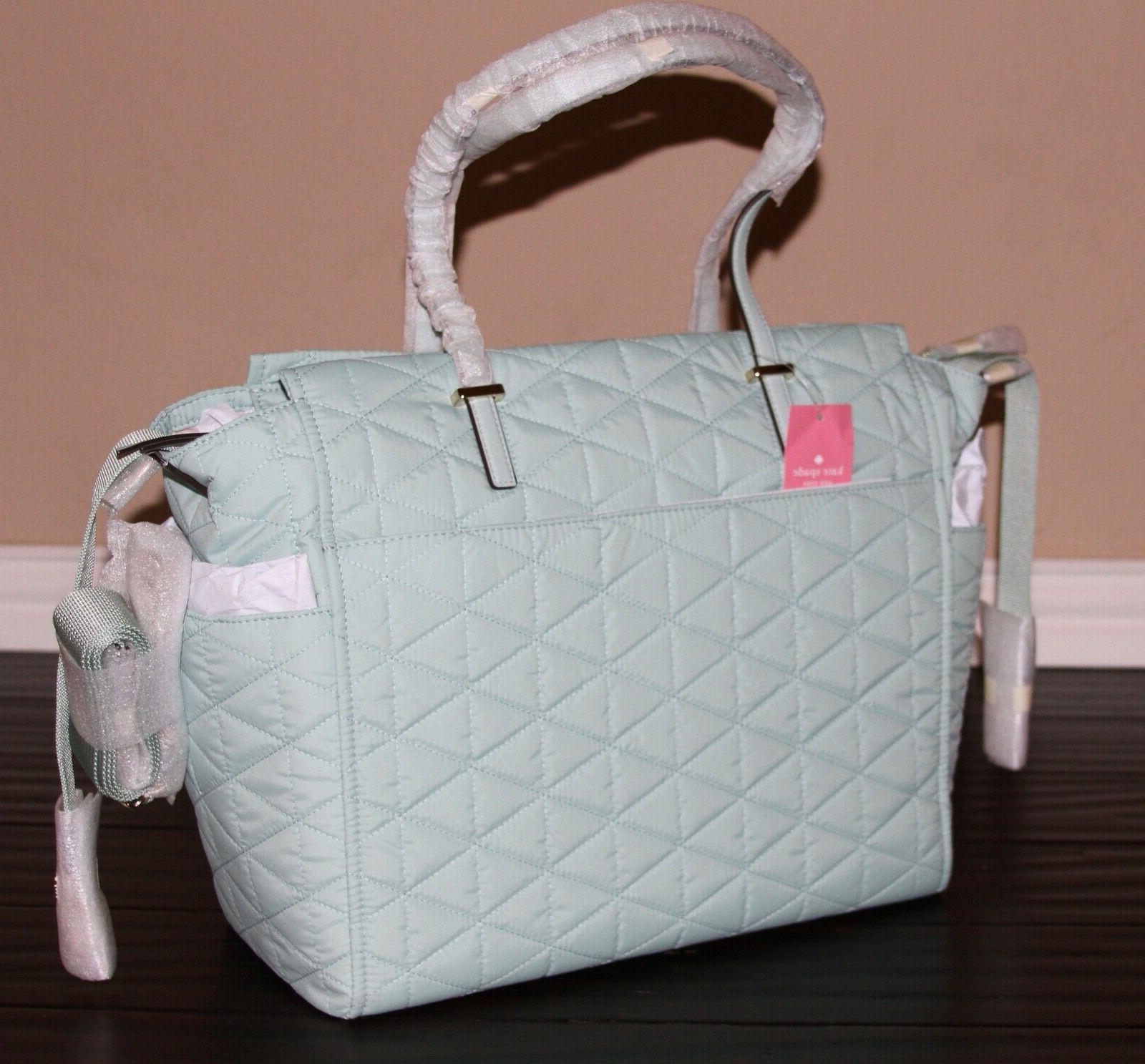💚 NEW! Kate Nylon Shoulder Tote Bag Spring
