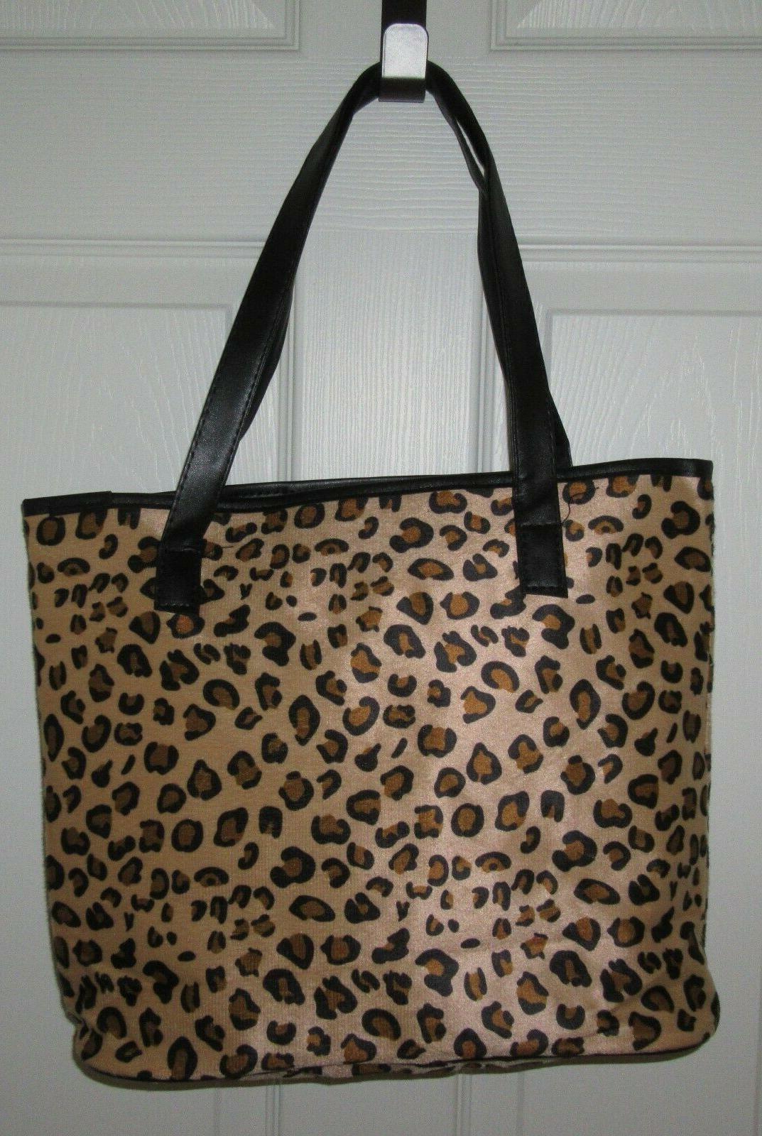 NEW Cheetah Animal Print Tote Purse