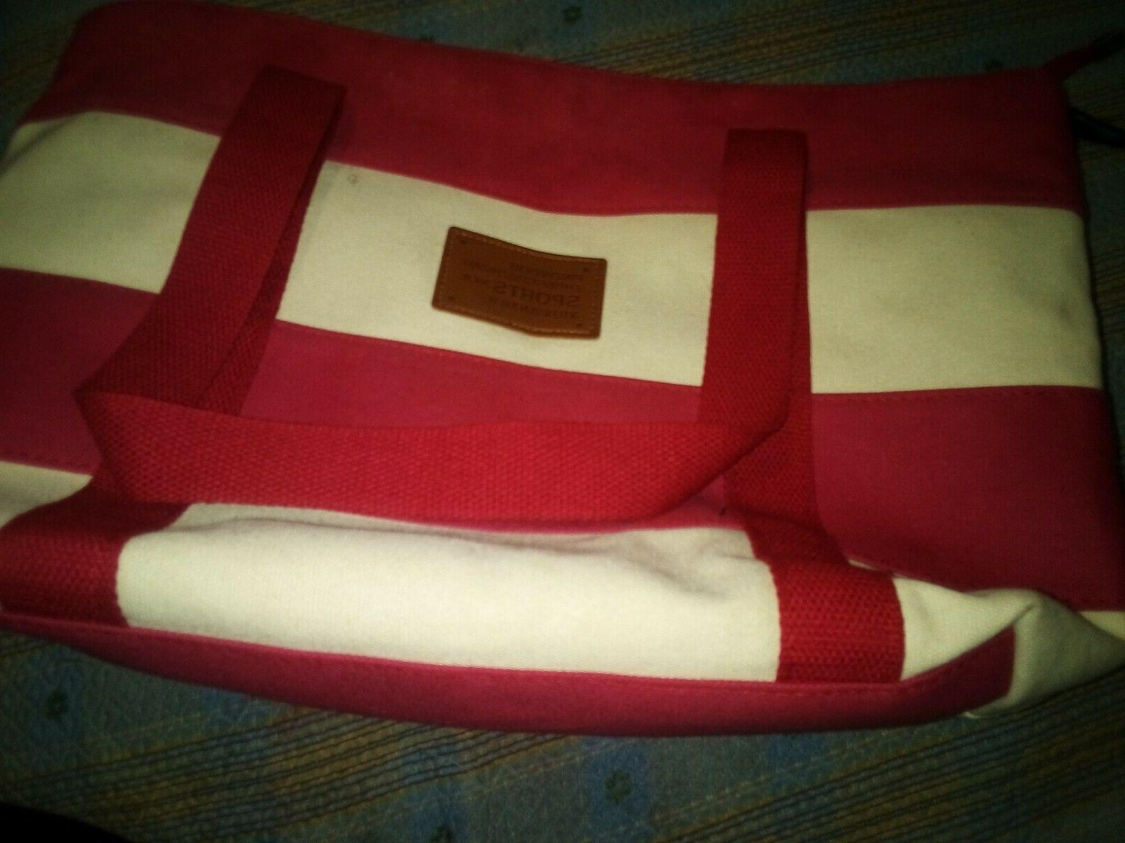 New Tote bag red size