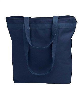 new tote bag large bag with zipper