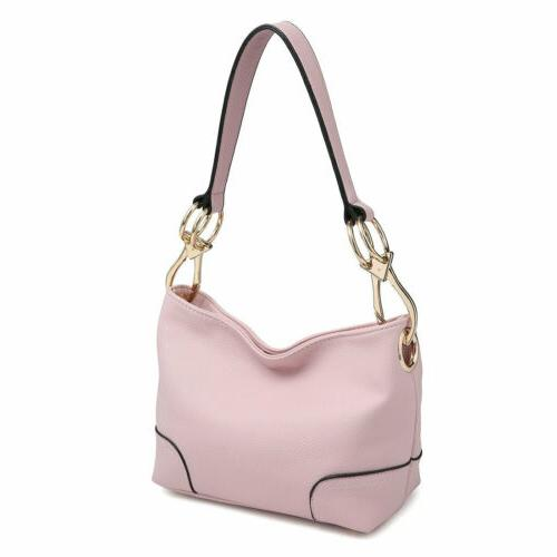 new women handbag faux leather hobo tote