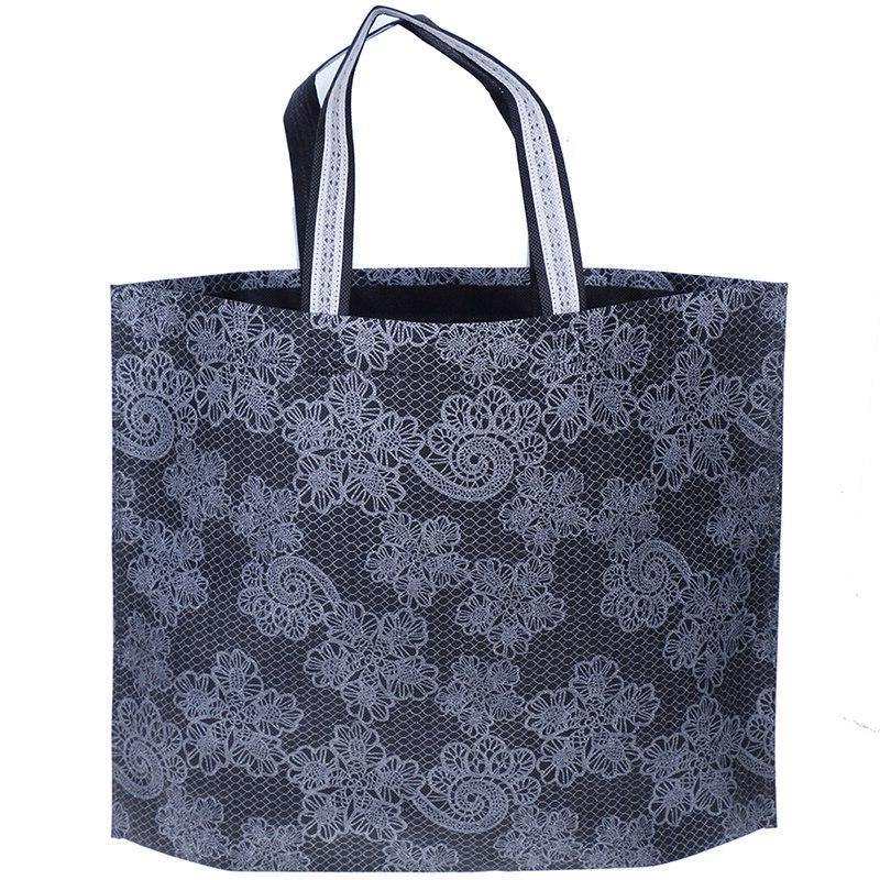 New Women Foldable Shopping <font><b>Bag</b></font> Waterproof Thick Handbag Large Capacity <font><b>Zip</b></font> Free