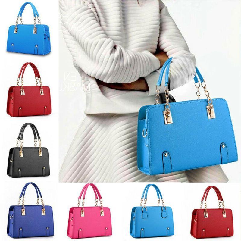 New Women Luxury Handbag PU Leather <font><b>Bag</b></font> <font><b>Tote</b></font> Satchel