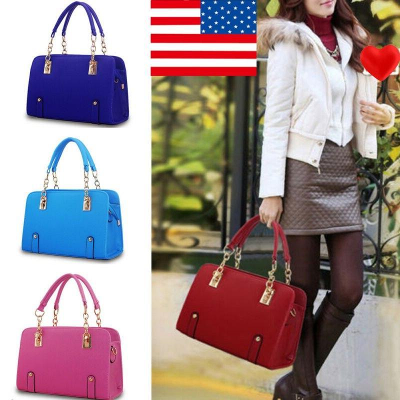 new women luxury handbag pu leather shoulder