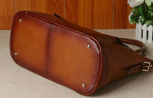 New Soft Genuine Leather Tote