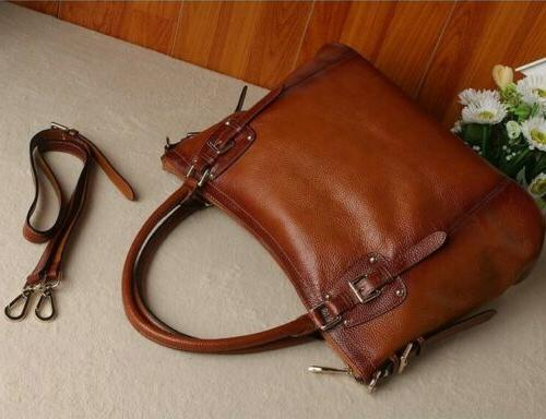 New Soft Leather Tote Large