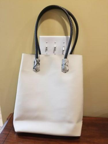 New Womens Faux Bag Tote