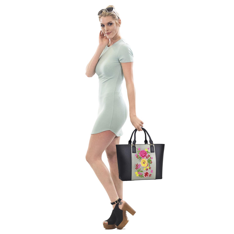 Dasein Handbags Large Satchels Shoulder Bags
