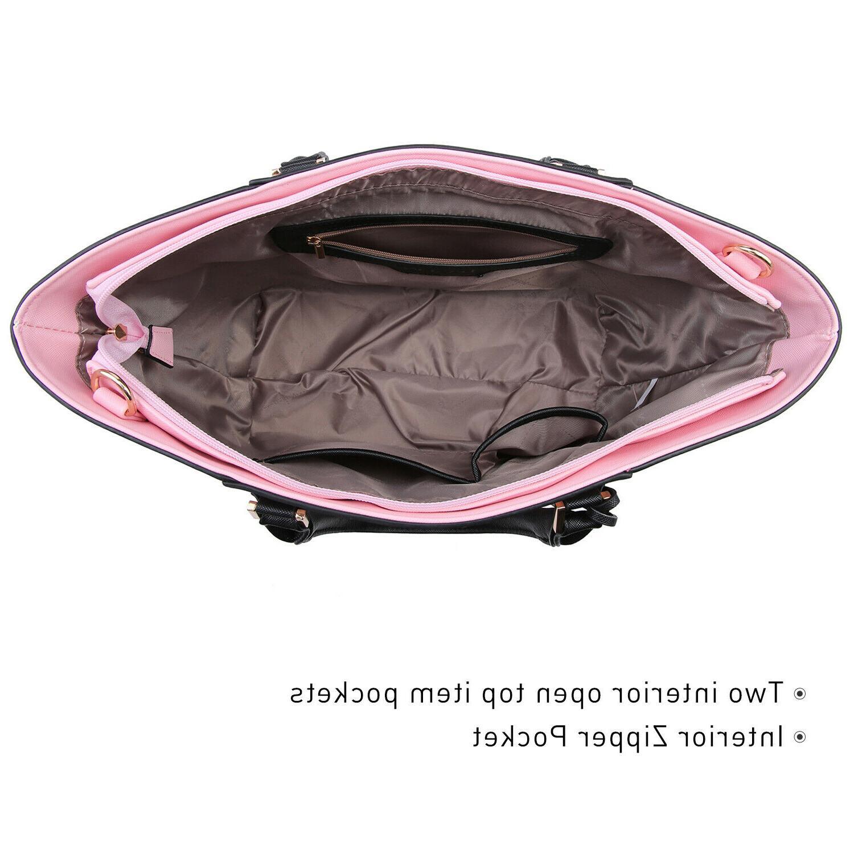 Dasein Women Handbags Large Purse Satchels Shoulder Bags