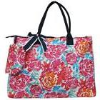 Ngil Quilted Cotton Extra Large Overnight Travel School Tote
